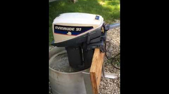 Evinrude 9.9 HP 1975 Model 10524 10525 10554 10555