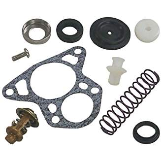 18-3674 Thermostat Kit for V-6 Crossflow