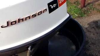 Johnson 20 HP 1970 modelo 20R70, 20RL70