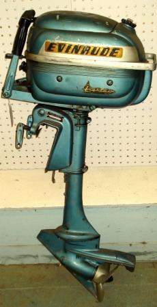 Evinrude 3.0 HP 1954-1956 modelo 3012 3013