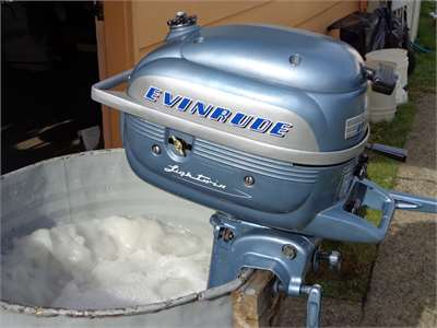 Evinrude 3.0 HP 1955 Model 3014 3015 3016