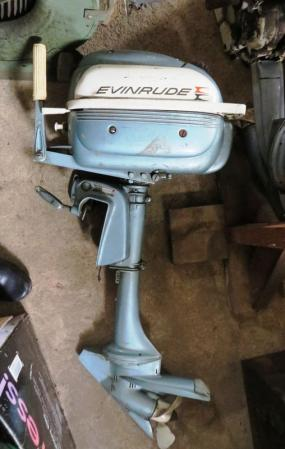 Evinrude 3 0 hp 1961 model 3038 3039 3040 outboard boat for Outboard boat motor repair