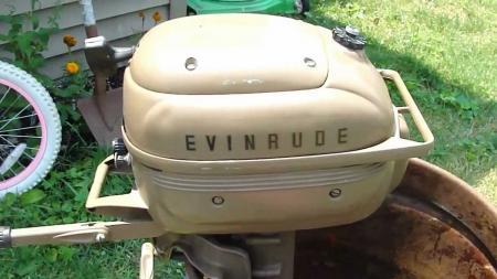 Evinrude 3.0 HP 1966-1967 modelo 3612