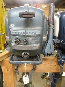 Evinrude 5.5 HP 1962 modelo 5524 5525