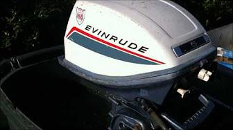 Evinrude 5 HP 1966 modelo 5602 5603