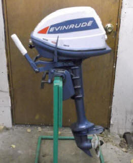 Evinrude 5 hp 1968 model 5802 5803 outboard boat motor for How to service johnson outboard motor