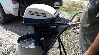Evinrude 6 HP 1970 Model 6002, 6003