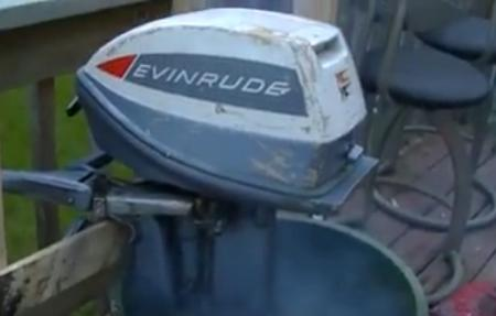 Evinrude 6 HP 1965 Model 6502, 6503