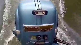Evinrude 7.5 HP 1954 modelo 7514, 7515, 6516, 7517