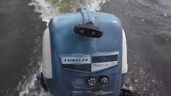 Evinrude 7 5 HP 1955 Model 7518, 7519 | Outboard Boat Motor Repair