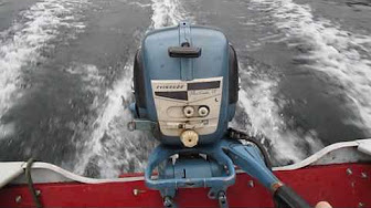 Evinrude 7.5 HP 1956 Model 7520, 7521