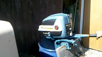 Evinrude 7.5 HP 1957 Model 7522, 7523