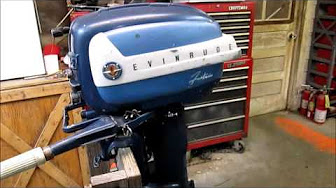 Evinrude 7.5 HP 1958 Model 7524, 7525