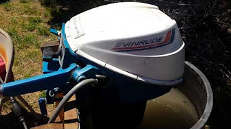 Evinrude 9.5 HP 1972 Model 9222, 9223