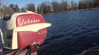 Johnson 7.5 HP 1957 modelo AD-11, ADL-11