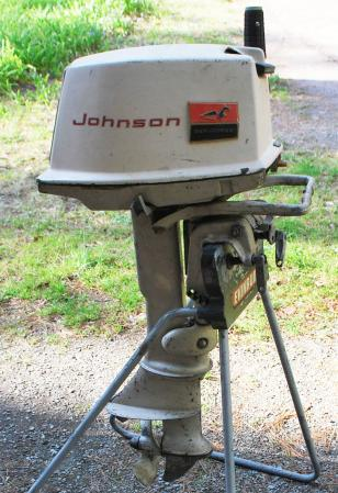 Johnson 5 5 Hp 1962 Model Cd 19 Cdl 19 Outboard Boat