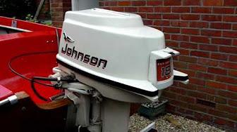 Johnson 18 HP 1961 modelo FD-15, FDL-15