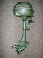Johnson 3.0 HP 1952-1954 modeloaren JW-10
