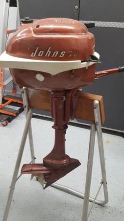 Johnson 3.0 HP 1956 modeloaren JW-12