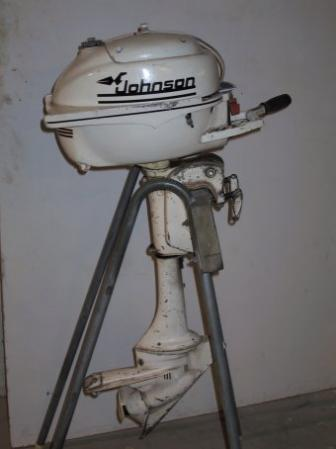 Johnson 3.0 HP 1959 modelis JW-15