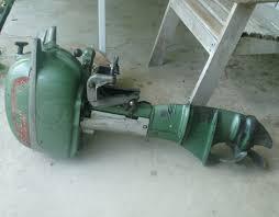 Johnson 10 HP 1949-1950 eredua QD-10 QD-11