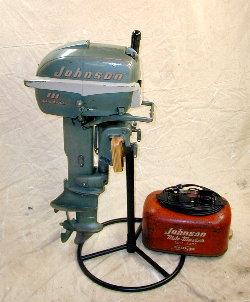Johnson 10 Hp 1953 Model Qd 14 Outboard Boat Motor Repair