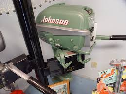 Johnson 10 HP 1954 Model QD-15