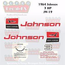 Johnson 3.0 HP 1963 modelis JW-18