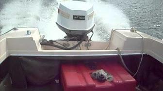 Johnson 100 Hp 1972 Model 100esl72 Outboard Boat Motor