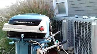Evinrude 35 HP 1957 modeloa 25028 25029 25532 25533 25930 25931