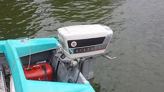 Evinrude 35 HP 1958 Model 25034 25035 25936 25937 25514 25515