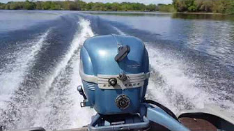 Evinrude 25 HP 1953-1954 Model 2512 2513