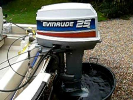 Evinrude 25 HP 1973 Model 25302 25303 25352 25353 | Outboard Boat