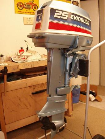 Evinrude 25 HP 1978 Model 25802 25803 25852 25853