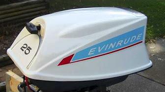 Evinrude 25 HP 1969 modelo 25902 25902
