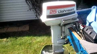 Johnson 25 HP 1979 modelo 25E79, 25EL79, 25R79, 25RL9