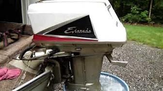 Evinrude 40 HP 1960 Modello 35018 35019 35520 35521