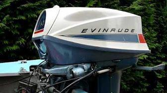Evinrude 40 HP 1968 modeloa 40802 40803 40852 40853 40872 40873