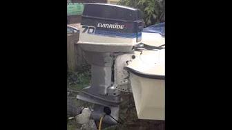 Evinrude 70 HP 1979 40973 70983 model
