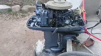 Johnson 40 HP 1973 modelo 40E73, 40EL73, 40R73, 50RL73
