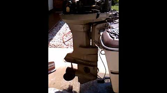 Evinrude 50 HP 1971 Model 50172 50173