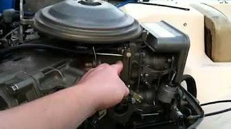 / motori / Johnson 85 HP 1972 Modello 85ESL72