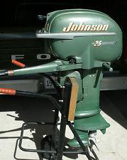 Johnson 25 HP 1952 Model RD-12, RD-13 | Outboard Boat Motor