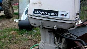 Johnson 60 HP 1966 Model VX-12M, VXL-112M, R, VXH-12, VXHL