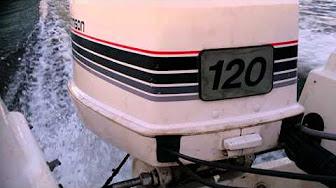 Evinrude / Johnson / OMC 120 HP 1985 modelo 120TLCO, 120TXCO