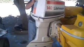Evinrude / Johnson / OMC 140 HP 1980 modelis 140MLCS, 140TRLCS, 140TRXCS