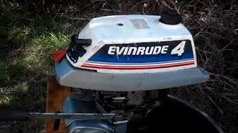 Evinrude / Johnson / OMC 4 HP 1980 eredua 4BRCS, 4BRLCS, 4RLCS, 4WCS