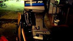 Evinrude / Johnson / OMC 70 HP 1986 Modelo 70ELCD, 70TLCD