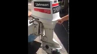 / Evinrude / Johnson / OMC 70 HP 1981 Modelo 70ELCI, 70TLCI