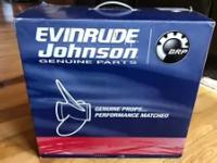 778738 BRP Evinrude Johnson Aluminium Propeller (13-3 / 4 x 15), RH, 15 Spline